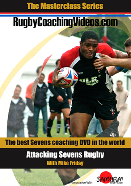 Attacking for Sevens Rugby DVD Cover