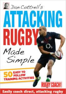 Dan Cottrell's Attacking Rugby Made Simple Cover
