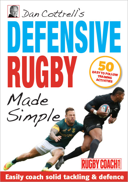 Dan Cottrell's Defensive Rugby Made Simple Cover