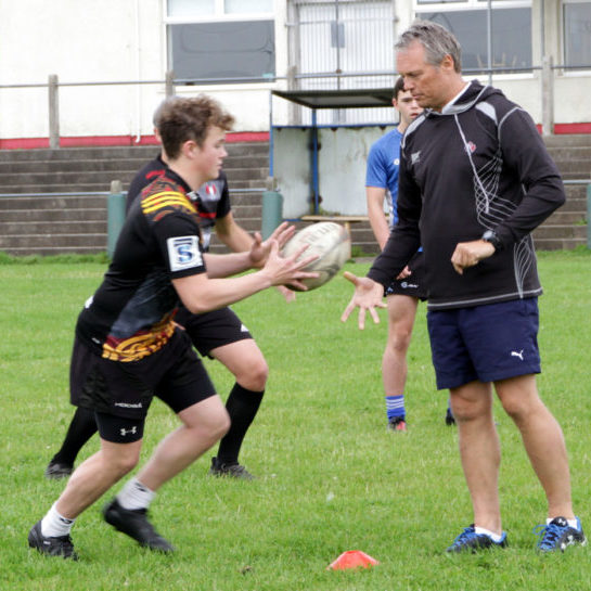 Dan Cottrell rugby coaching